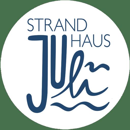 Logo Strandhaus Juli im Ostseebad Baabe auf Rügen