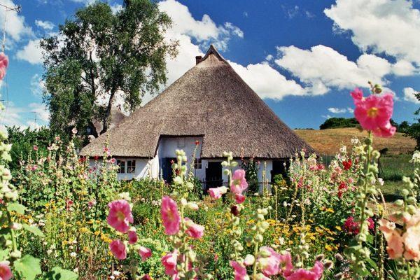 Pfarrwitwenhaus in Groß Zicker auf der Insel Rügen